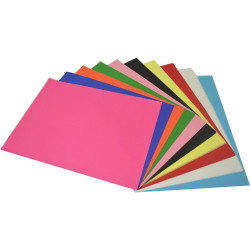 RAINBOW TISSUE PAPER 17 GSM 375mmx500mm Acid Free Assorted Pack of 100