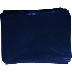 RAINBOW CELLOPHANE 750mm x 1m Dark Blue 25 Sheets Pack