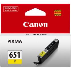 Canon CLI651Y Ink Cartridge Yellow