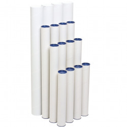 MARBIG MAILING TUBE 60x600mm Pack of 4