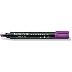 STAEDTLER 350 PERMANENT MARKER Chisel Violet Box of 10
