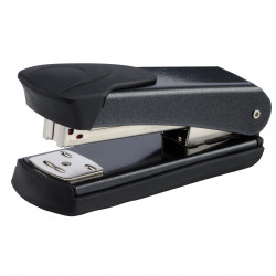 REXEL STAPLER MATADOR Half Strip Black
