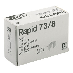 RAPID STAPLES HEAVY DUTY 73/8 Super Strong Box of 5000
