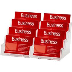 ESSELTE BUSINESS CARD HOLDER Free Standing Landscape 4 Tier