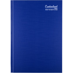 Cumberland Premium Diary 2 Days To Page A5 Blue