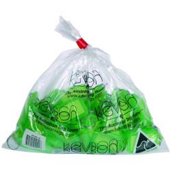 Kevron Key Tags Id5 56x30mm Green Bag of 50