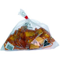Kevron Key Tags Id5 56x30mm Orange Bag of 50