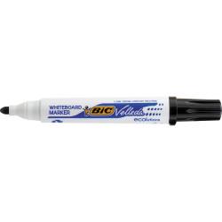 BIC WHITEBOARD 1701 ECO MARKER Black, Bullet Tip Pack of 12