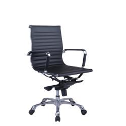 NAPLES MEDIUM BACK CHAIR PU Medium Back Executive Chair