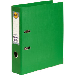 Marbig Pe Linen Lever Arch Binder A4 75mm Green