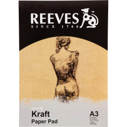 Reeves Kraft Pad A3 110gsm 50 Sheet