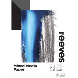 Reeves Mixed Media Pad A3 200gsm 15 Sheet