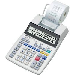 SHARP EL-1750V CALCULATOR 12 Digit. 2 Colour Printer Tax Function