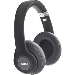 Moki Katana Bluetooth Headphones Black