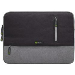 Moki Odyssey Sleeve Fits up to 13.3 Inch Laptop Black / Grey