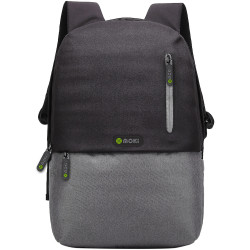 Mokey Odyssey BackPack Fits up to 15.6 Inch Laptop Black / Grey