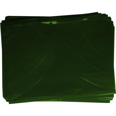 Rainbow Cellophane 750mmx1m Dark Green Pack of 25