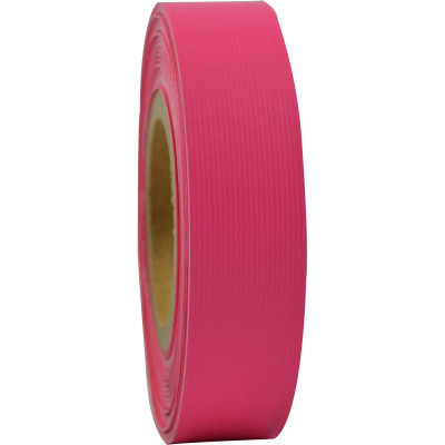 RAINBOW STRIPPING ROLL RIBBED 25mmx30m Pink
