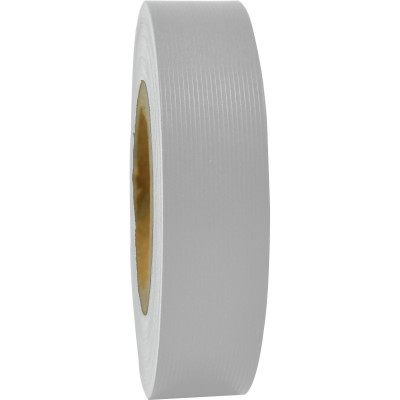 RAINBOW STRIPPING ROLL RIBBED 25mmx30m White