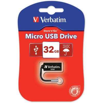 Verbatim Store 'n' Go Micro Drive 32GB USB Black