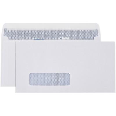 Cumberland Window Face Envelope DLX Strip Seal Laser Secretive White Box Of 500