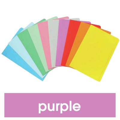 MARBIG MANILLA FOLDER F/Cap Purple Box of 100