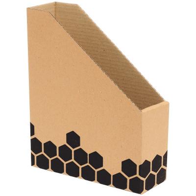 Marbig Enviro Magazine Box Merkur Box 230x75x300mm Woodgrain