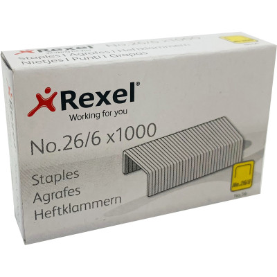 Rexel Staples No.56 26/6 Box of 1000