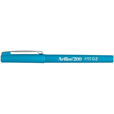 Artline 220 Fineliner Pen 0.2mm Sky Blue Pack Of 12